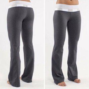 Lululemon Groove Pant Heather Grey Size 4